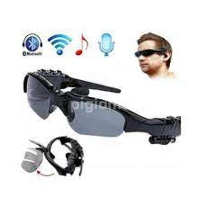 Bluetooth Sunglasses Sun Glasses Wireless Bluetooth Headset Stereo Headphone with Mic Handsfree for iPhone Samsung Huawei Xiaomi image 1