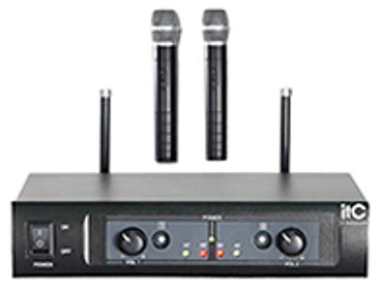 2 Channel UHF Wireless Microphone