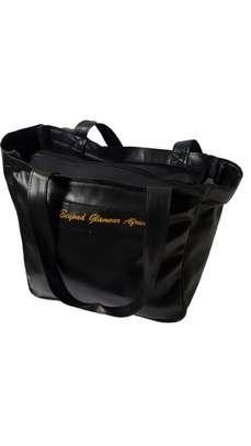 Black leather Shoulder Bag image 1