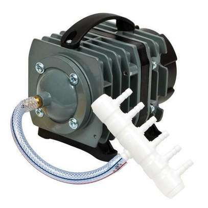 Air Pump 950 GPH 32W 60L/min 10 Outlet Commercial Air Pump for Fish pond and Hydroponic Systems