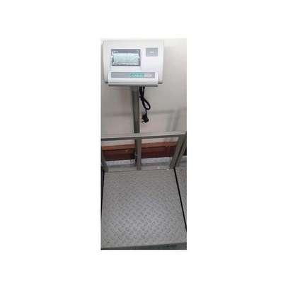A12- 300KgGeneric Heavy duty digital platform weighing machine image 1