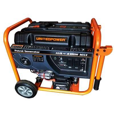 United Power 4600 4KVA Four Stroke Petrol Generator image 1
