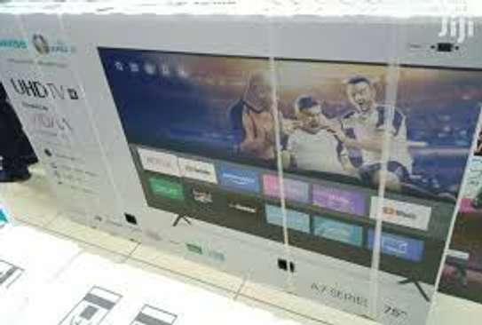 Hisense 70'' 4K ULTRA HD ANDROID TV, NETFLIX, BLUETOOTH 7 SERIES image 1