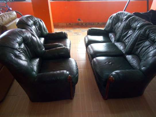 Leather Sofa (5 Seater) image 2
