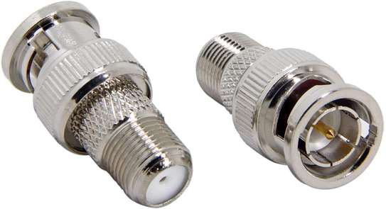 BNC to F Type Coaxial Adapter image 1