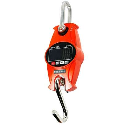 300Kg Digital Mini Crane Weighing Scale Weight Industrial Hanging Scale image 1