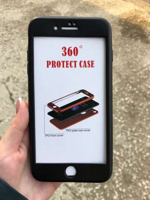 360 full protective cover tpu soft rubber phone case for iPhone 6 6S image 2