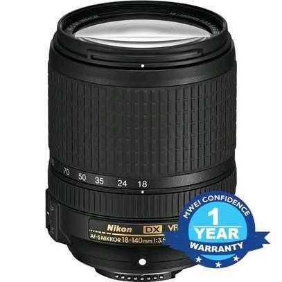 Nikon AF-S DX NIKKOR 55-200mm f/4-5.6G ED VR II Lens Black image 1