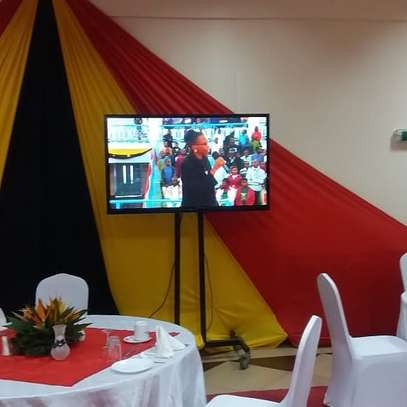 We offer TV Screen Hires for events in Trainings,Funerals, wedding image 2