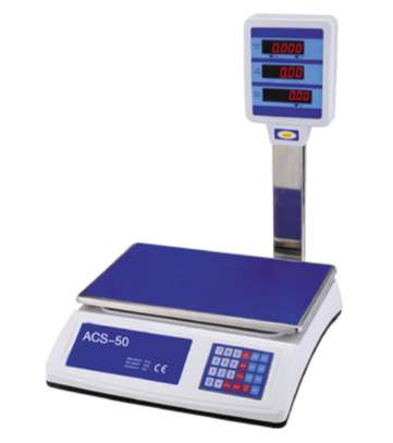 50Kgs Price Computing Table Top Bench Weigh Scale ACS-818D image 2