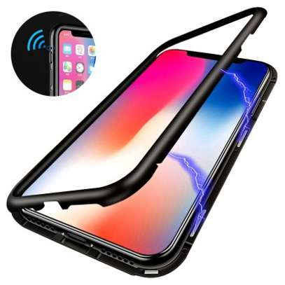 Magnetic Case For iPhone 8 8 Plus With Metal Frame, Glass Back image 10