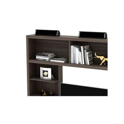"Tecno Mobili ENTERTAINMENT WALL UNIT For Up To 50"" TV - OAK image 5"