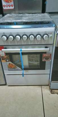 Mika 4 Cooker Gas/Electric + oven image 1