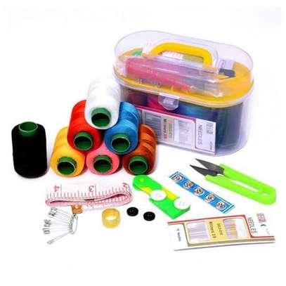 Sewing Box With Sewing Kits  and Sewing Needles Tools image 2