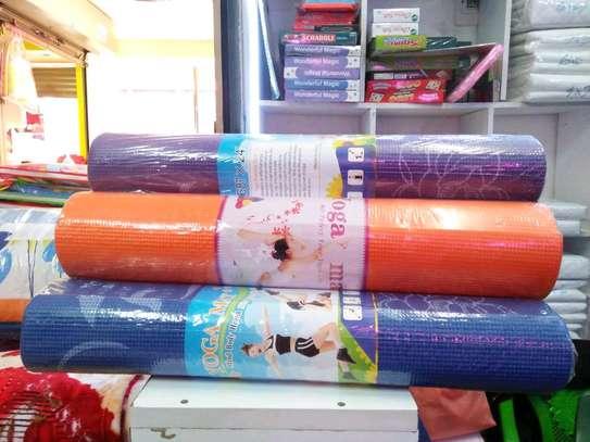 Colourful thick Yoga mats image 3