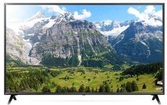 LG , 49, Smart UHD 4K LED TV - Black image 1