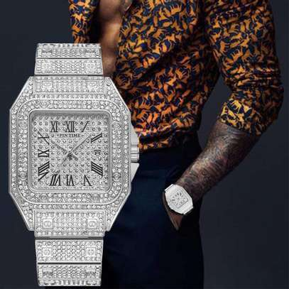 Pin Tim Iced Out Watch image 2