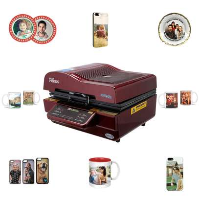 3d Vaccum sublimation Heating Printing Press. image 1