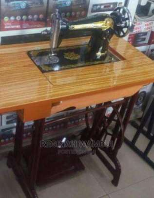 Swan Sewing Machine With Imported Table image 1
