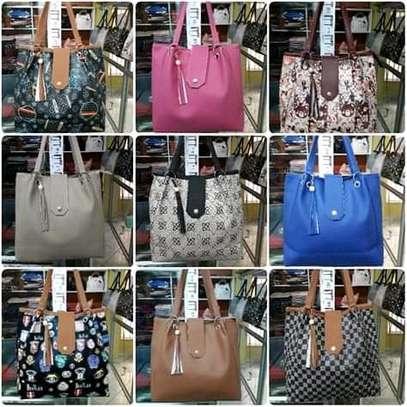 Ladies ring handbag, multicolored image 2