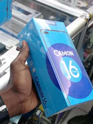 Tecno Camon 16 Premier 128GB/8GB RAM brand new and sealed in a shop image 2