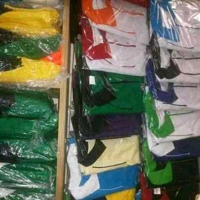 Polo and round neck plain t-shirts image 2