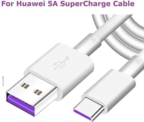 Original Huawei Supercharge USB 3.1 Type C Cable 5A Super Charging Data Cord image 1