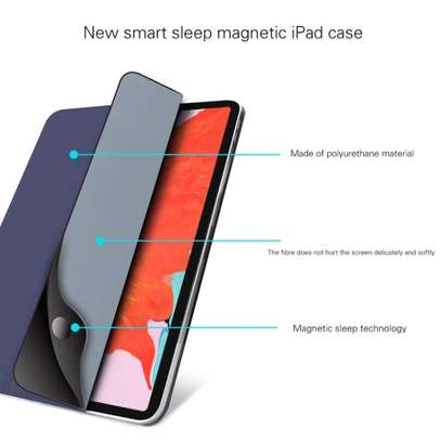 MUTURAL Auto Wake Sleep Stand Smart Leather Tablet Case for iPad 10.2 With Pencil Holder image 8