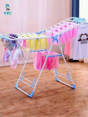 Foldable clothes hanger/drier