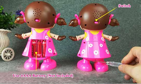 Dancing Girl Musical Fun Toy with Flash Light image 4