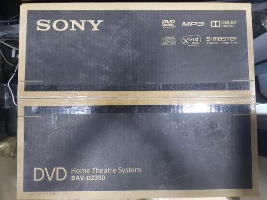Sony DVD Home Theater System DAV-DZ350 image 2