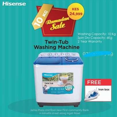 Hisense XPB100-2009SK 10KG Washing Machine-Ramadan Offers image 1