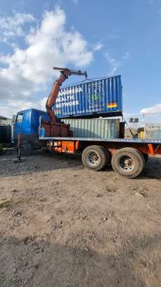 Container transport and crane trucks for hire image 4
