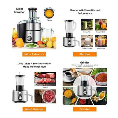 Sayona 4 in 1 Multifunction Juice Extractor Juicer Blender