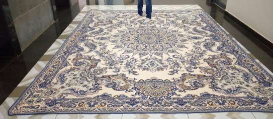 Persian Light Carpet / Bed Cover. image 7