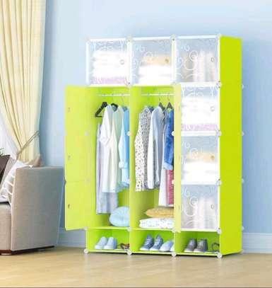 3 column plastic wardrobe image 1