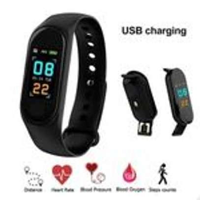 Generic M3 Smart Bracelet Heart Rate Monitor,Sports Pedometer image 2