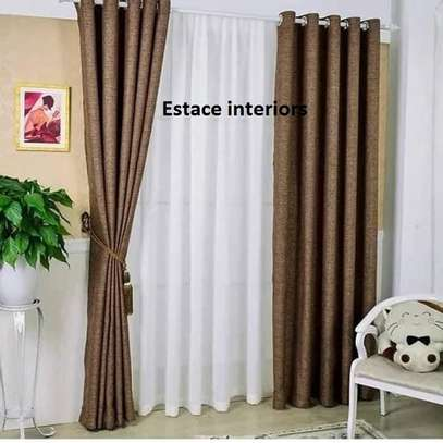 curtains with matching sheers image 6