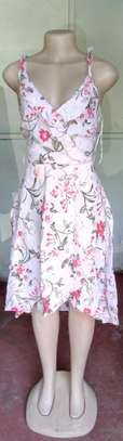 Floral dress Mtumba outfit