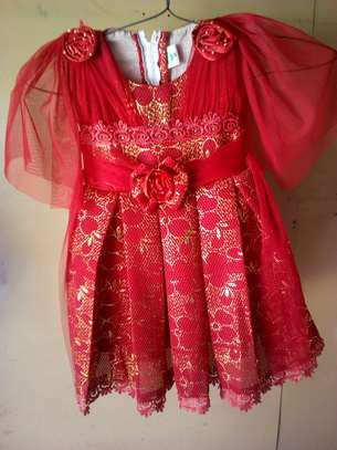 Baby dress embroided image 1