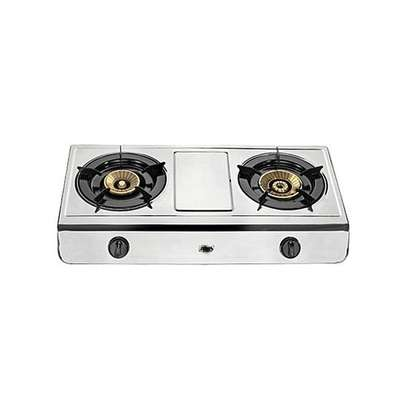 able Top Gas Stove, Double Burner