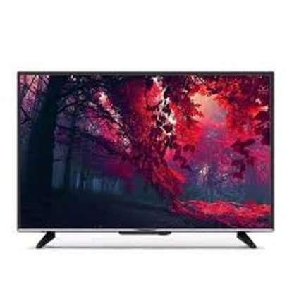 "Skyworth 43TB7000 43"" Inch Frameless Smart Android LED TV - Black image 1"