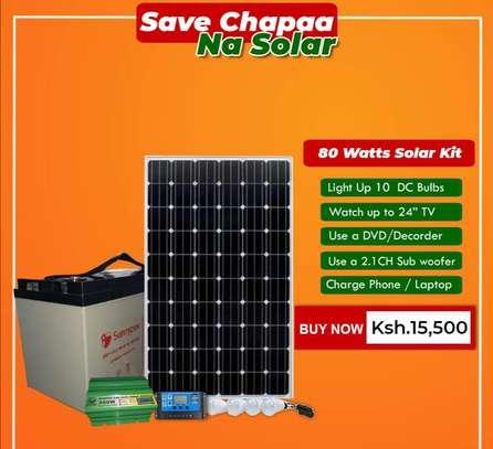 80 watts solar kit image 1