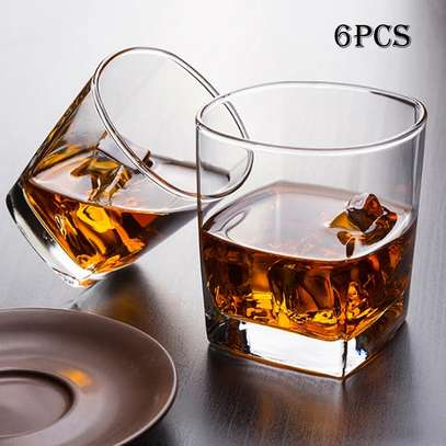 6pcs whisky glasses image 1