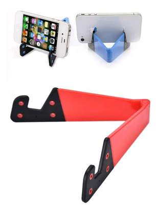 V Shape Foldable Mobile Phone Stand image 2