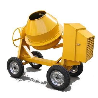 Concrete mixer 400l Diesel powered. image 1