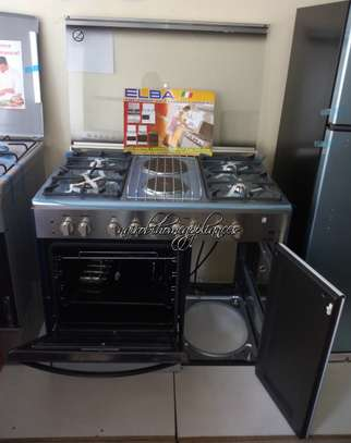 Elba 4 Gas + 2 Electric Stainless Steel Cooker- EB/165