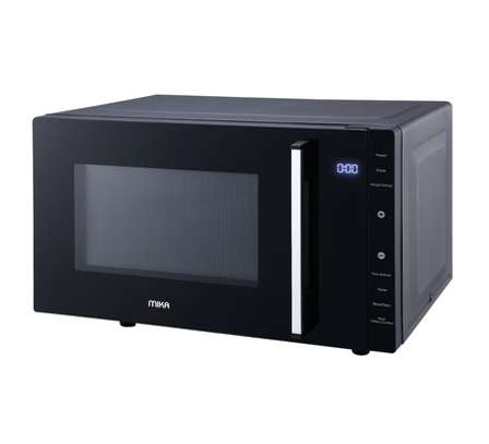 Microwave Oven, 23L,Flat Bed, Touch Control Pad, Black image 1