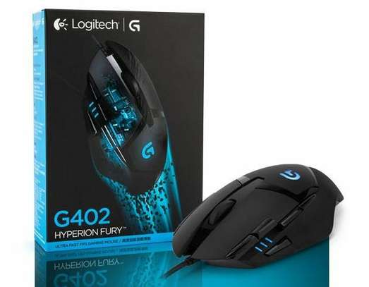 Logitech G402 Optical Gaming Mouse Hyperion Fury USB 8 Buttons, 910-004067