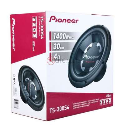 """Pioneer 12"""" Subwoofer Single Voice Coil - 1400W image 2"""